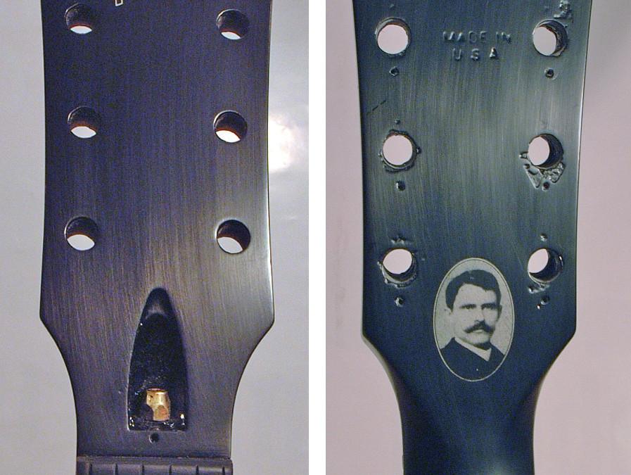 Gibson SG – nyak és fejjavítás