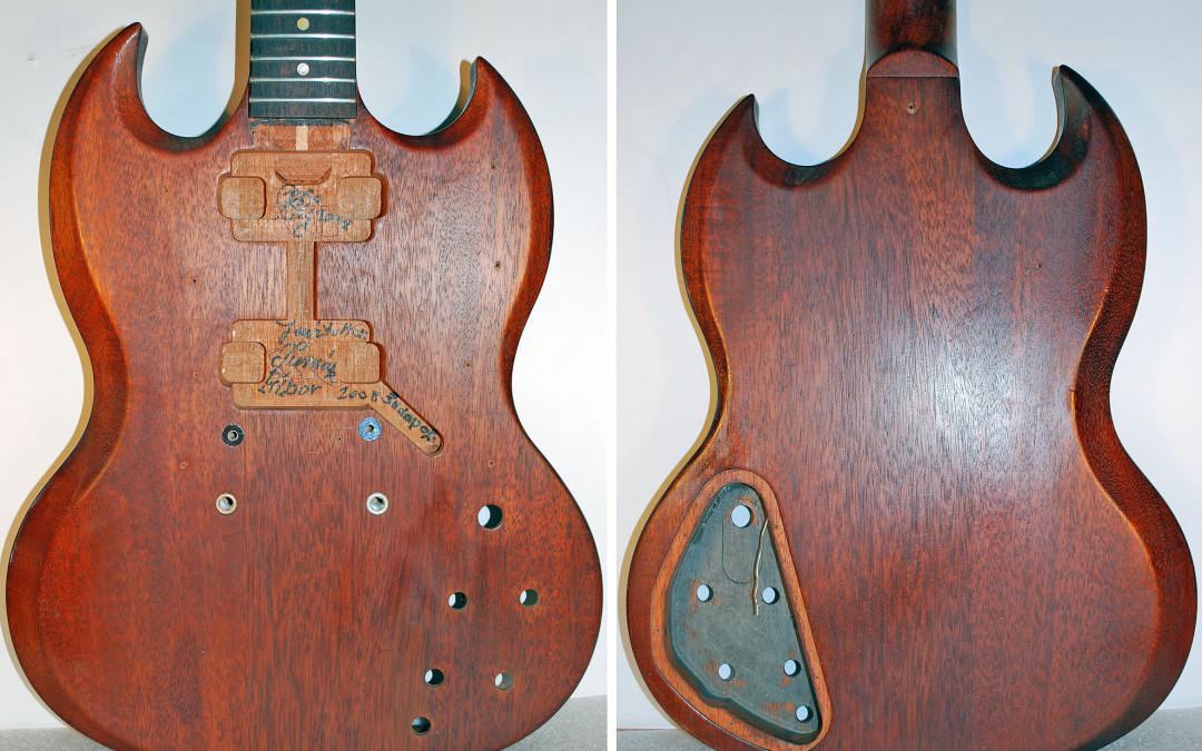 Gibson SG Standard – test felújítása