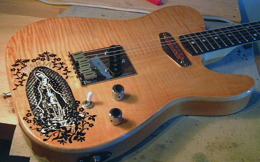 Fender Telecaster pickup csere és matricázás